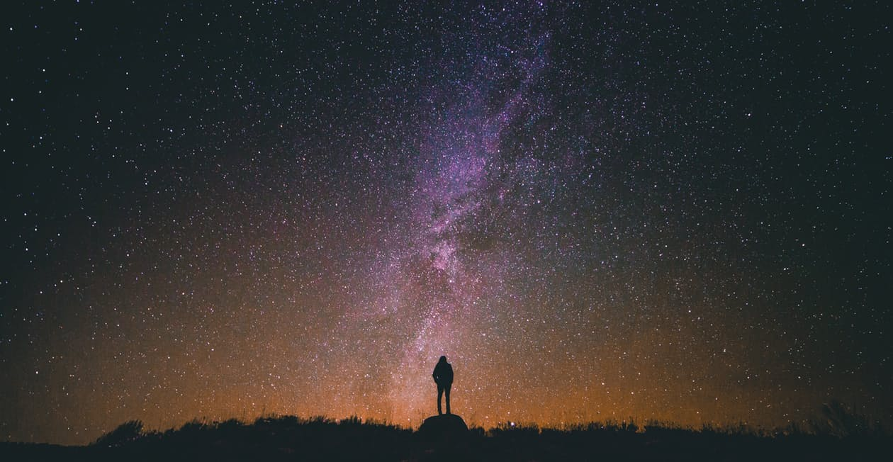A star gazer with sights on the milky way